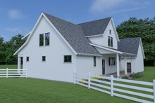 House Plan Design - Farmhouse Exterior - Other Elevation Plan #1070-69
