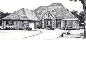 Traditional Exterior - Front Elevation Plan #310-813