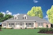 Southern Style House Plan - 3 Beds 3.5 Baths 2981 Sq/Ft Plan #36-225 Exterior - Front Elevation