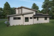 Contemporary Style House Plan - 3 Beds 2.5 Baths 3156 Sq/Ft Plan #1070-115 Exterior - Other Elevation