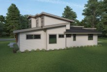 House Plan Design - Contemporary Exterior - Other Elevation Plan #1070-115