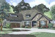 European Style House Plan - 4 Beds 2.5 Baths 2631 Sq/Ft Plan #17-2523