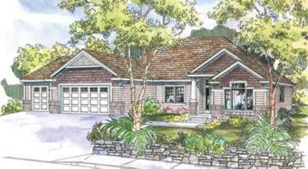 Traditional style house plan 3 beds 2 baths 2270 sq ft for Tk homes floor plans