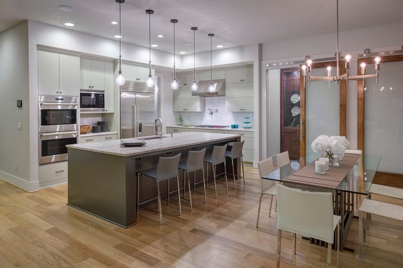 Contemporary Interior - Kitchen Plan #48-651 - Houseplans.com