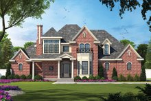 House Design - European Exterior - Front Elevation Plan #20-967