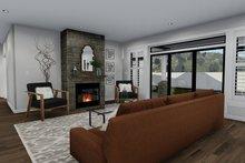 Ranch Interior - Family Room Plan #1060-30