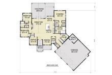 Farmhouse Floor Plan - Main Floor Plan Plan #1070-22