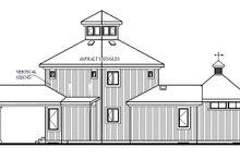 Home Plan Design - Contemporary Exterior - Rear Elevation Plan #23-2020