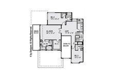 Contemporary Floor Plan - Upper Floor Plan Plan #1066-34