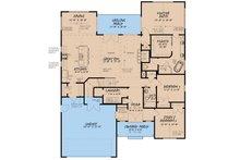 Craftsman Floor Plan - Main Floor Plan Plan #923-159