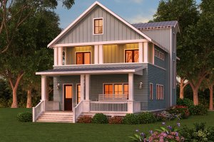 Architectural House Design - farmhouse plans