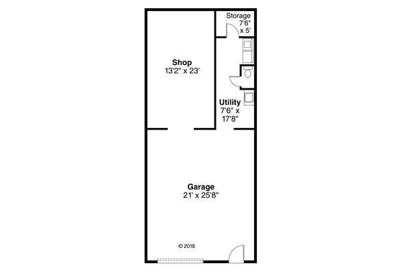 Traditional Floor Plan - Main Floor Plan Plan #124-1138