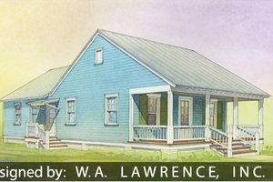 Cottage Exterior - Front Elevation Plan #514-15