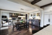 Craftsman Style House Plan - 4 Beds 3.5 Baths 4129 Sq/Ft Plan #928-260 Interior - Dining Room