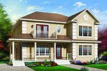 Traditional Exterior - Front Elevation Plan #23-556