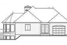 Dream House Plan - Contemporary Exterior - Other Elevation Plan #23-873