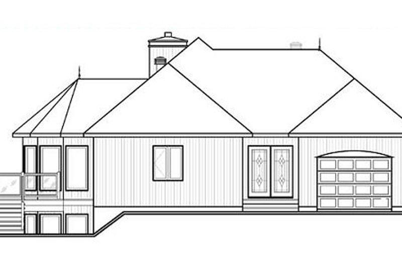 Contemporary Exterior - Other Elevation Plan #23-873 - Houseplans.com