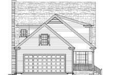 Dream House Plan - Colonial Exterior - Rear Elevation Plan #137-259