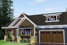 Dream House Plan - Craftsman Exterior - Other Elevation Plan #51-519