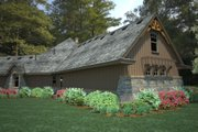 Craftsman Style House Plan - 3 Beds 2.5 Baths 2495 Sq/Ft Plan #120-191 Exterior - Other Elevation
