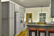 Country Style House Plan - 2 Beds 2 Baths 1122 Sq/Ft Plan #44-188