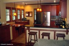 Bungalow Interior - Kitchen Plan #929-38
