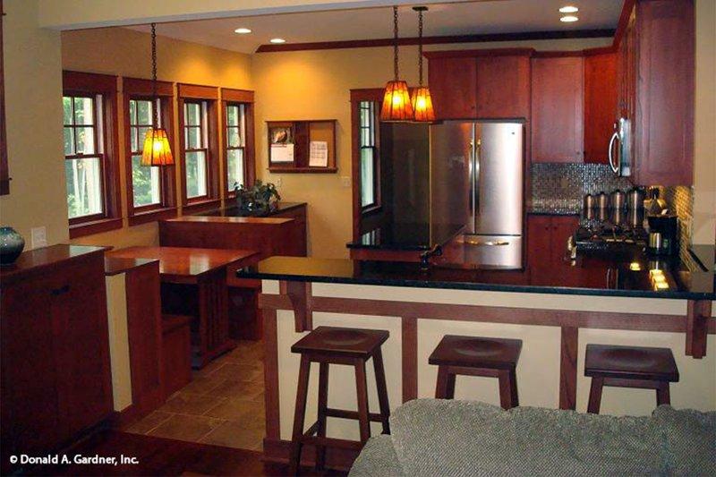 Bungalow Interior - Kitchen Plan #929-38 - Houseplans.com