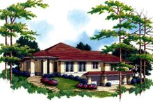 Home Plan - Exterior - Other Elevation Plan #48-298