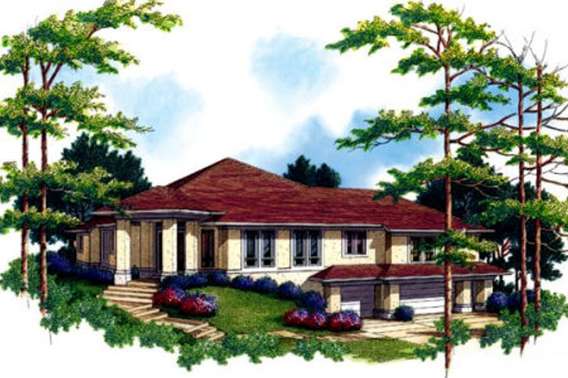 Exterior - Other Elevation Plan #48-298 - Houseplans.com