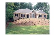 Colonial Style House Plan - 3 Beds 2.5 Baths 2902 Sq/Ft Plan #429-4 Exterior - Other Elevation