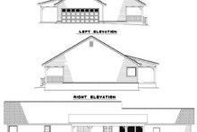 House Plan Design - Ranch Exterior - Rear Elevation Plan #17-2142