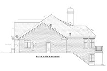 Architectural House Design - Craftsman Exterior - Other Elevation Plan #20-2454