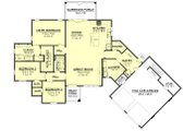 European Style House Plan - 3 Beds 2 Baths 2024 Sq/Ft Plan #430-168 Floor Plan - Main Floor Plan