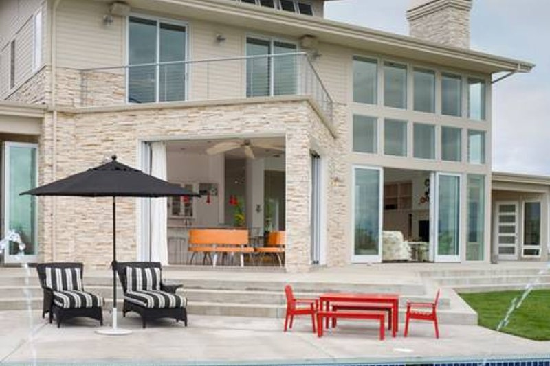 Modern Exterior - Outdoor Living Plan #48-468 - Houseplans.com