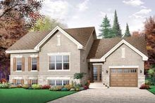 Traditional Exterior - Front Elevation Plan #23-660
