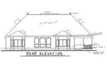 Dream House Plan - European Exterior - Rear Elevation Plan #20-1822