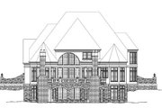 Classical Style House Plan - 4 Beds 4 Baths 3258 Sq/Ft Plan #119-230 Exterior - Rear Elevation