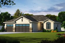 Home Plan - Ranch Exterior - Front Elevation Plan #20-2321