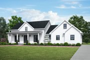 Farmhouse Style House Plan - 3 Beds 2.5 Baths 2523 Sq/Ft Plan #48-984 Exterior - Front Elevation