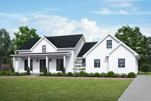 House Plan Design - Farmhouse Exterior - Front Elevation Plan #48-984