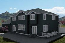 Dream House Plan - Craftsman Exterior - Other Elevation Plan #1060-55