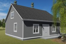 House Plan Design - Traditional Exterior - Other Elevation Plan #1060-86