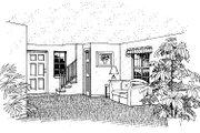 Farmhouse Style House Plan - 3 Beds 2 Baths 1170 Sq/Ft Plan #417-108