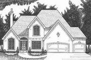 European Style House Plan - 4 Beds 3.5 Baths 2793 Sq/Ft Plan #6-109
