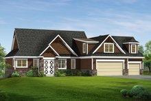 House Plan Design - Craftsman Exterior - Front Elevation Plan #1057-8