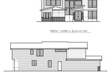 Contemporary Exterior - Other Elevation Plan #1066-66