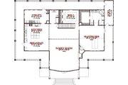 Craftsman Style House Plan - 2 Beds 2 Baths 3360 Sq/Ft Plan #63-342 Floor Plan - Main Floor Plan