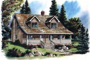 Craftsman Exterior - Front Elevation Plan #18-235