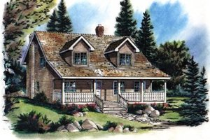 Craftsman Exterior - Front Elevation Plan #18-235