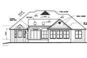 Mediterranean Style House Plan - 3 Beds 2.5 Baths 2559 Sq/Ft Plan #15-253